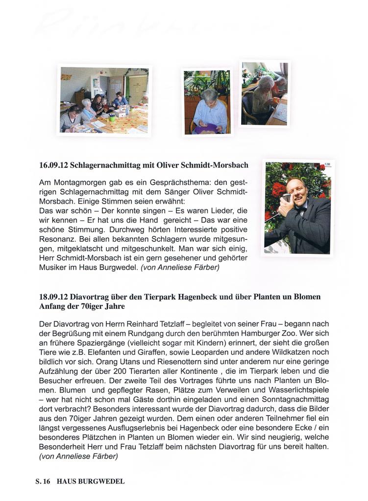 16.09.2012, Haus Burgwedel, Hamburg